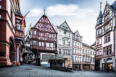 Historischer Marktplatz in Bernkastel