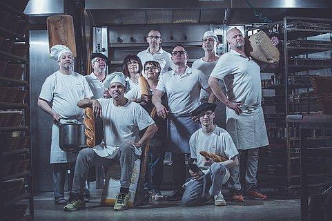 Team der Bäckerei Busch und Naab