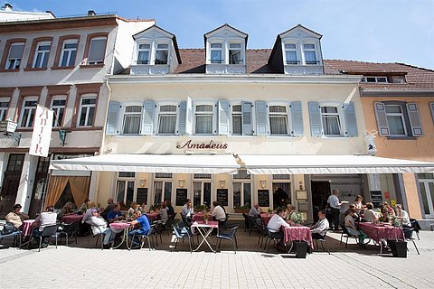 Amadeus Außenansicht © Restaurant Amadeus