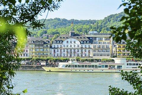 Bellevue Rheinhotel Außenansicht