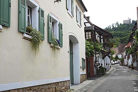 Außenansicht von der Schlossstraße aus